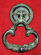 Flower Design Brass Door Knocker Antique Style Wardrobe Pull Cabinet Handle WG14