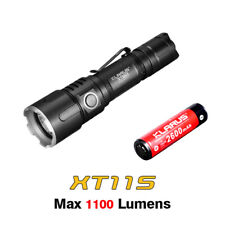 Klarus XT11S CREE XP-L HI V3 LED USB Rechargeable Flashlight Torch + Battery