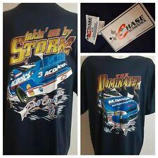 Rare HTF nos 1997 The Dominator #3 Chase Earnhardt Jr NASCAR Graphic T-Shirt vtg