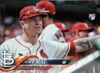 TYLER O'NEILL RC 2018 Topps Update Series (SP) VARIATION CARD US218 ROOKIE