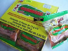 Hormiga Indy Watermelon flavor candies w/bittersweet & spicy powder 12-pcs 5-oz