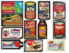 WACKY PACKAGES 1 OF 4  PHOTO-FRIDGE MAGNETS, 12 IMAGES