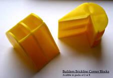 Pack Of 8 Bricklayers Corner Line Blocks - FREE P&P