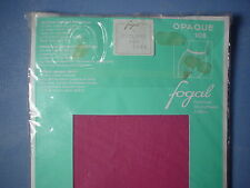 Fogal Style 108 Opaque Nylon Pantyhose Size Small in Cyclame