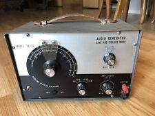 Vintage Lafayette Tech TE-22 Audio Signal Generator