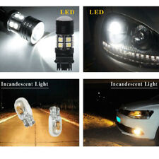 2x New 3157 Backup Light 12SMD Dual Reverse Light Projector CREE Chip LED Bulbs