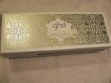 "GHD ARCTIC GOLD 1"" STYLER FLAT IRON HAIR STRAIHTENER BOX & IRON ONLY"