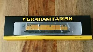 Graham Farish N Gauge 371-137 Class 31/6 (Refurbished) 31602 Network Rail NEW