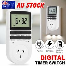 DIGITAL TIMER SWITCH Automation Socket Electric Programmable Power AU Plug RT