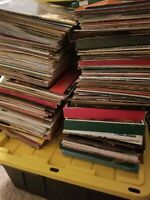"HUGE LOT of 100 12"" ** LP VINYL albums RECORDS *"