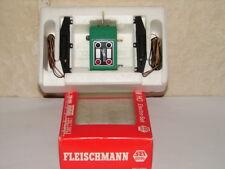 FLEISCHMANN ( 6095 ) COFFRET 2 MOTEURS ET 1 BOITIER AIGUILLAGES ELECTRIQUE HO, N