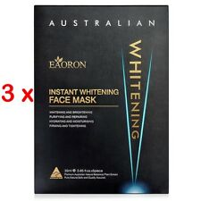 PROMOTION PRICE NEW 3 x  Eaoron Instant Whitening Face Mask 25ml (15 Pieces)