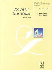 Rockin' The Boat Late Intermediate Piano Duet 4 Hands Kevin Olson