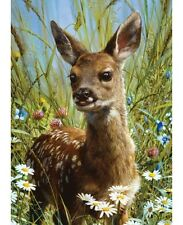 Spring Fawn Deer 1000 pcs Animal Planet Puzzle Masterpieces