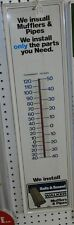 VINTAGE WALKER MUFFLERS EXHAUST AUTO PARTS ADVERTISING THERMOMETER 438-K