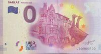 BILLET 0  EURO SARLAT PERIGORD NOIR  FRANCE 2017 NUMERO 100