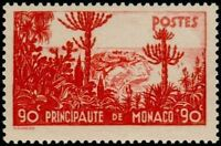 "MONACO STAMP TIMBRE YVERT N° 136 "" JARDINS EXOTIQUES 90c + 90c ""  NEUF xx LUXE"