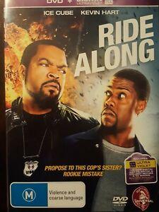 RIDE ALONG  DVD   Region 2,4,5  Kevin Hart, Ice Cube