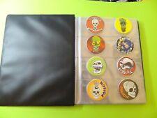 Pogs Skulls * Poison * 64 Miscellaneous Variety in Cap Album * New 1990s