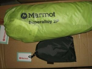 Marmot Superalloy 2-person Ultralight Backpacking Tent w/ Footprint *Brand New*