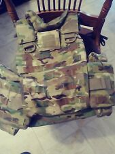 NEW LARGE MULTI-CAM PLATE CARRIER W/SOFT ARMOR INSERTS KDH,EAGLE,CRYE PRECISION