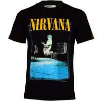 Replay Limited Edition Kurt Jump Photo Men's T-Shirt, Black