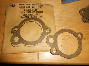 NOS Water Outlet Thermostat Gasket 1961-1963 Buick Compact Special Olds F-83 H2A