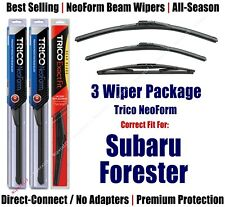 3pk Wipers Front & Rear - NeoForm - fit 2004-2005 Subaru Forester 16220/190/16B