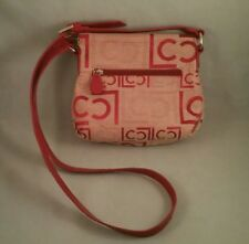 Vintage Liz Claiborne Red Crossbody Shoulder Bag Purse