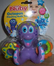 New Nuby Octopus Floating Bath Toy, Bath Time Fun, BABY SHOWER