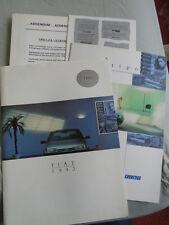 Fiat Tipo range brochure 1992