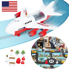 6 Cars,Large Plane,11 Road Signs,Game map Toys Car Set Child Gift for New Choose