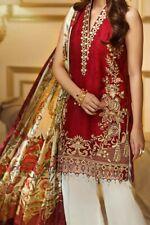 pakistani stitched embroidery lawn Shirt Only