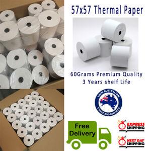 200 Rolls 57x57mm Thermal Paper Cash Register Receipt Roll