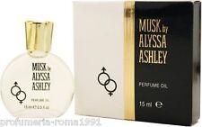ALYSSA ASHLEY MUSK  PERFUMED OIL 15 ML -  UNISEX