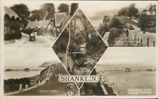 Real photo Shanklin 5 views; 1939; nigh