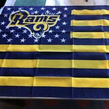 St Louis Rams Retro American Flag Banner 3x5 Foot New Football