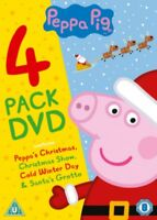 Peppa Pig - 4 Confezione - The Christmas Collection Nuovo DVD (EO10818D)