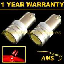 2X BA9s T4W 233 XENON RED HIGH POWER LED SIDELIGHT SIDE LIGHT BULBS HID SL100802