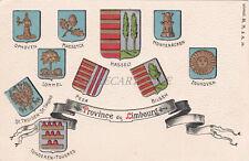 BELGIUM - Province de Limbourg - Coats of Arms - Embossed