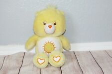 Care Bear Funshine Glow in the Dark Tummy Sun Glow a Lot Love Plush Doll 13""