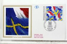 SUEDE FRANCE enveloppe 1er JOUR cover FDC X934