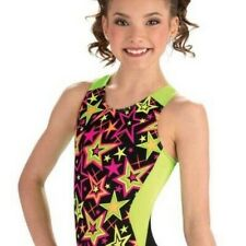 "GK Gymnastics Leotard Star Pop racerback -  26"" - CM"