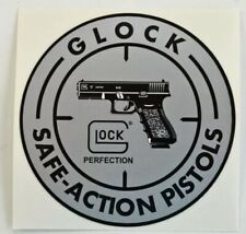 "Glock Safe Action Pistols Sticker. Size 3 11/16"" New"