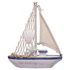 Nautical Medium Fishing Boat Decorative Ornament - Bathroom Seaside Theme