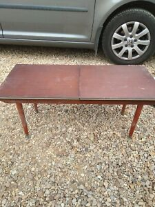Vintage Retro Extending Coffee Table Wooden