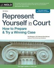 REPRESENT YOURSELF IN COURT - BERGMAN, PAUL/ BERMAN, SARA J./ TWOHY, MIKE (CON)