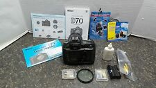 Nikon D D70  Digital SLR Camera With Lens 104362-1 (JOO) F-3