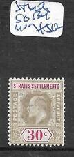 MALAYA STRAITS SETTLEMENTS  (P1206B)  KE 30C  SG 134   MOG