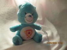 Champ Care Bear Plush 2004 Nanco blue w/ trophy 7 inch